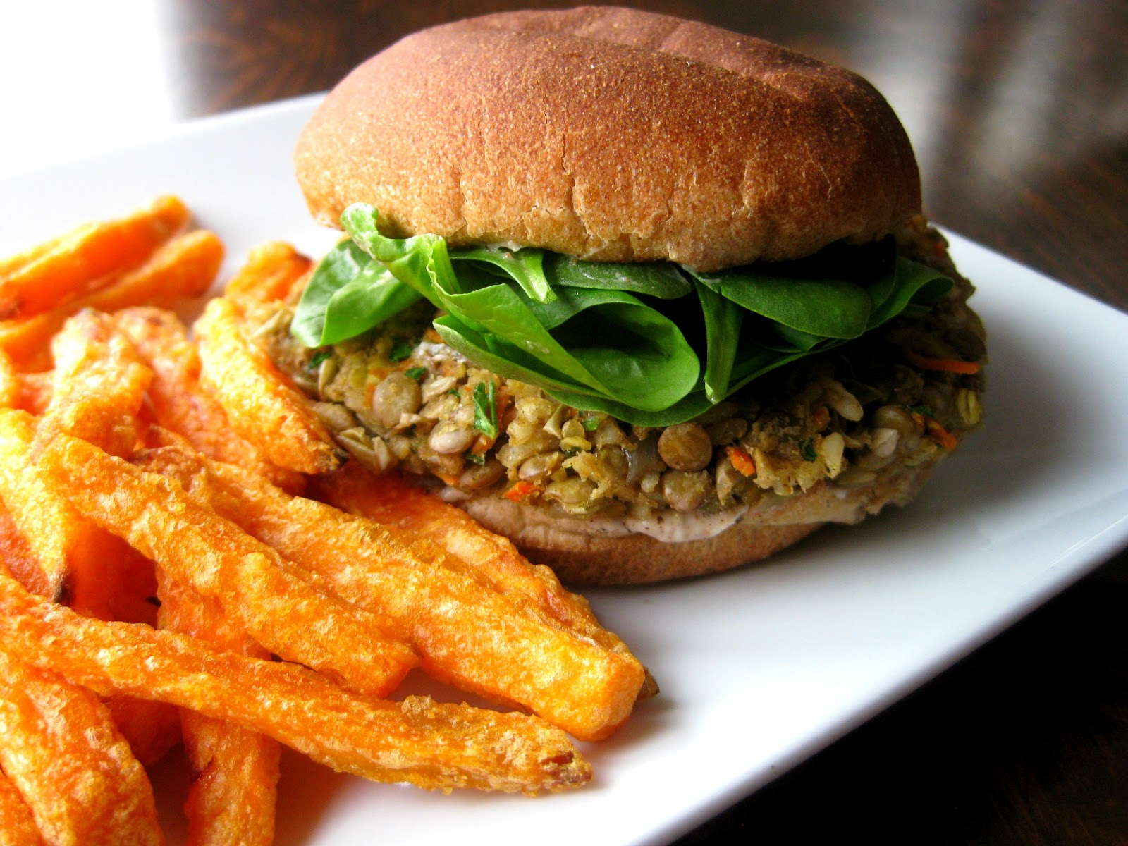Healthy Cooking for Teens: Veggie Burger & Sweet Potato Fries
