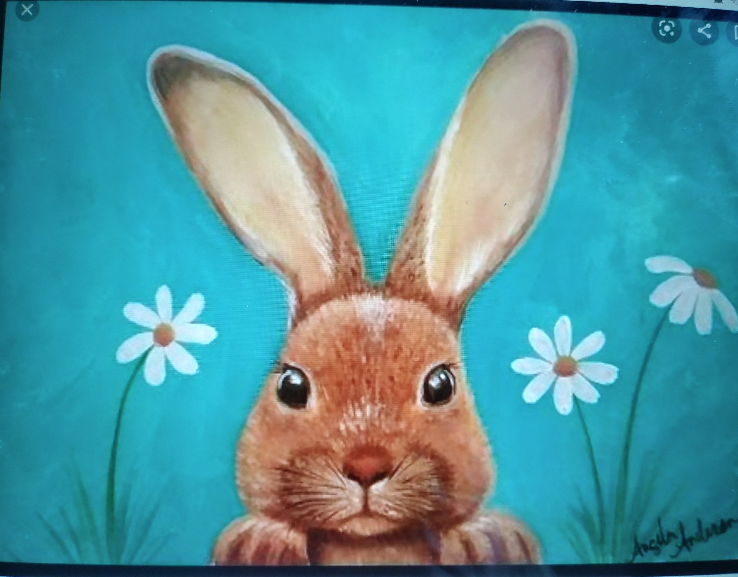 Painting with Dorothy: Bunny